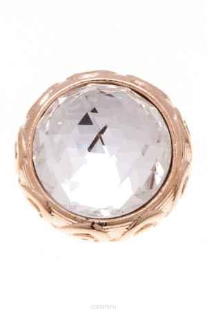 Купить Накладка на кольцо-основу Jenavi Коллекция Ротор Ксавар бол., цвет: золотой, белый. k188pr00. Размер 1,5