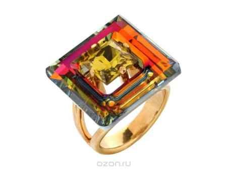Купить Кольцо Jenavi Коллекция Тайны вселенной Центариус, цвет: золотой, мультиколор. b828p070. Размер 20