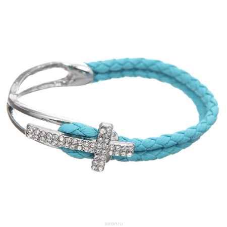 Купить Браслет Taya, цвет: голубой. T-B-7985-BRAC-BLUE