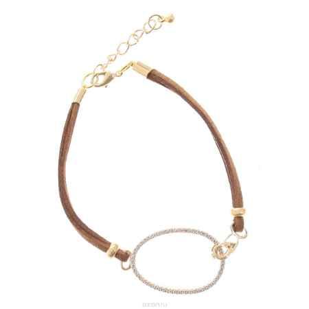Купить Браслет Happy Charms Family, цвет: коричневый, золотистый. JO0035BR