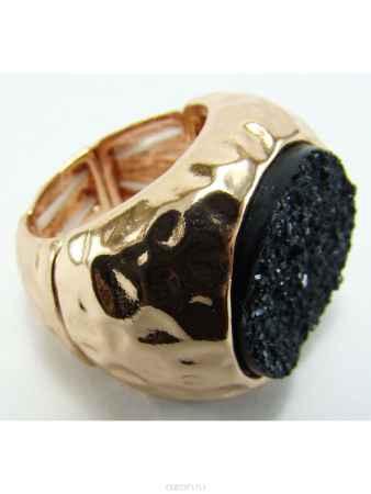 Купить Кольцо Taya, цвет: золотистый, черный. T-B-8157