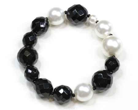 Купить Браслет Bohemia Style, цвет: черный, белый. PB145 96506 042