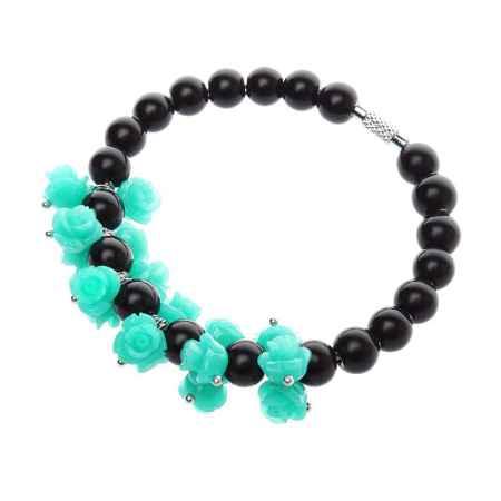 Купить Браслет Migura, цвет: черный, зеленый. RO1283