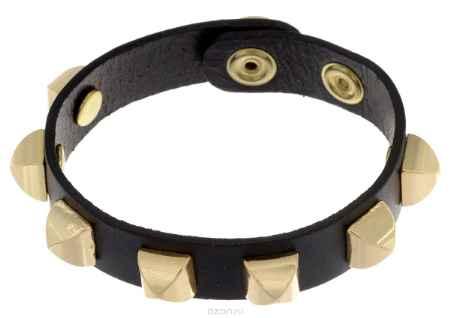 Купить Браслет Taya, цвет: золотистый, черный. T-B-5489