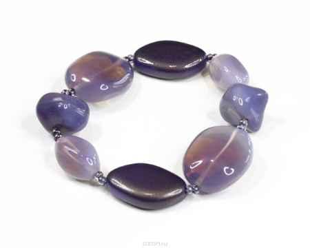 Купить Браслет Bohemia Style, цвет: фиолетовый. 165 5599 02