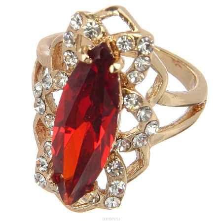 Купить Кольцо Taya, цвет: красный, золотистый. Размер 17. T-B-8764
