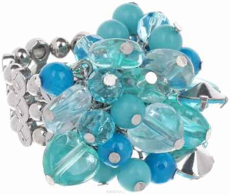Купить Кольцо Avgad, цвет: серебристый, бирюзовый. EA178JW280