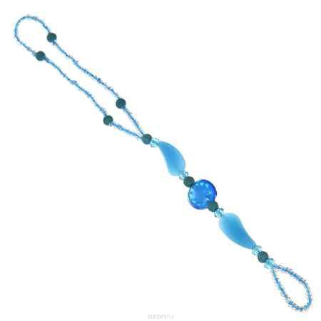 Купить Браслет на ногу Taya, цвет: голубой. T-B-10137-BRAC-BLUE