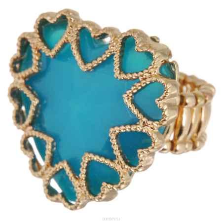 Купить Кольцо Avgad, цвет: золотистый, голубой. EA178JW183