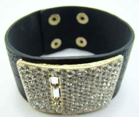 Купить Браслет Taya, цвет: золотой, черный. T-B-7911