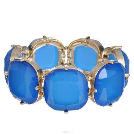 Купить Браслет Taya, цвет: золотистый, синий. T-B-6172