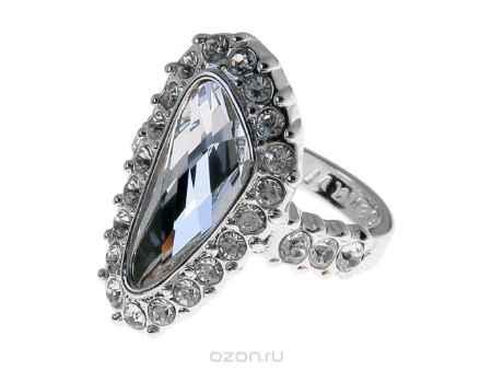 Купить Кольцо Jenavi Коллекция Айсберг Морена, цвет: серебряный, белый. r440f000. Размер 19
