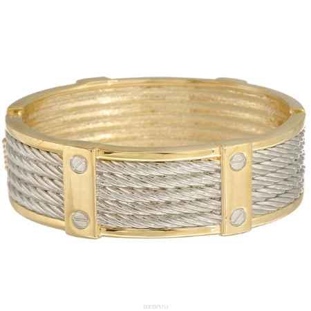 Купить Браслет Taya, цвет: золотистый, серебристый. T-B-7052