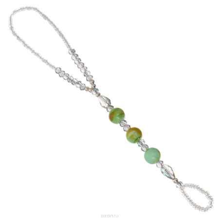 Купить Браслет на ногу Taya, цвет: светло-зеленый. T-B-10143-BRAC-LT.GREEN
