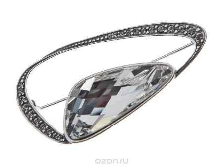 Купить Брошь Jenavi Коллекция Айсберг Аккем, цвет: серебряный, белый. r4423600. Размер 5,32,5