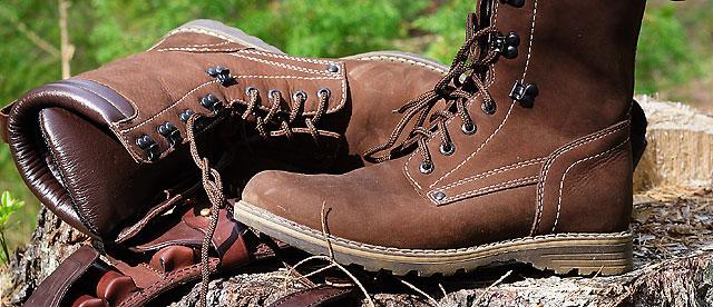 Разновидность обуви для охоты