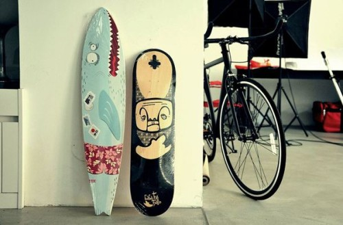 Сравнение скейтборда и лонгборда