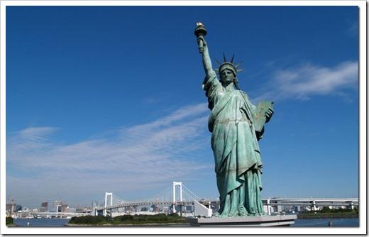 Статуя свободы – символ США