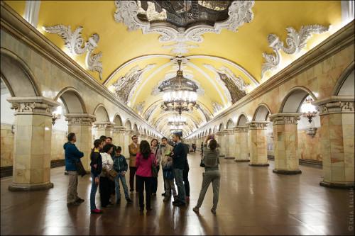 Экскурсии по московскому метро