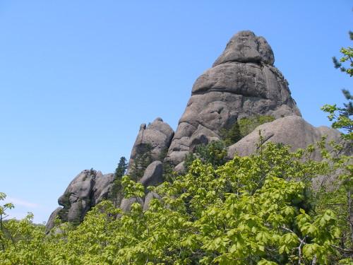 Вершина горы Пидан