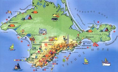 Выбор курорта в Крыму