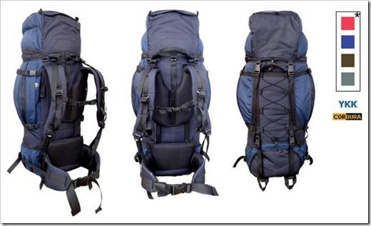 Изменяемая подвеска рюкзака