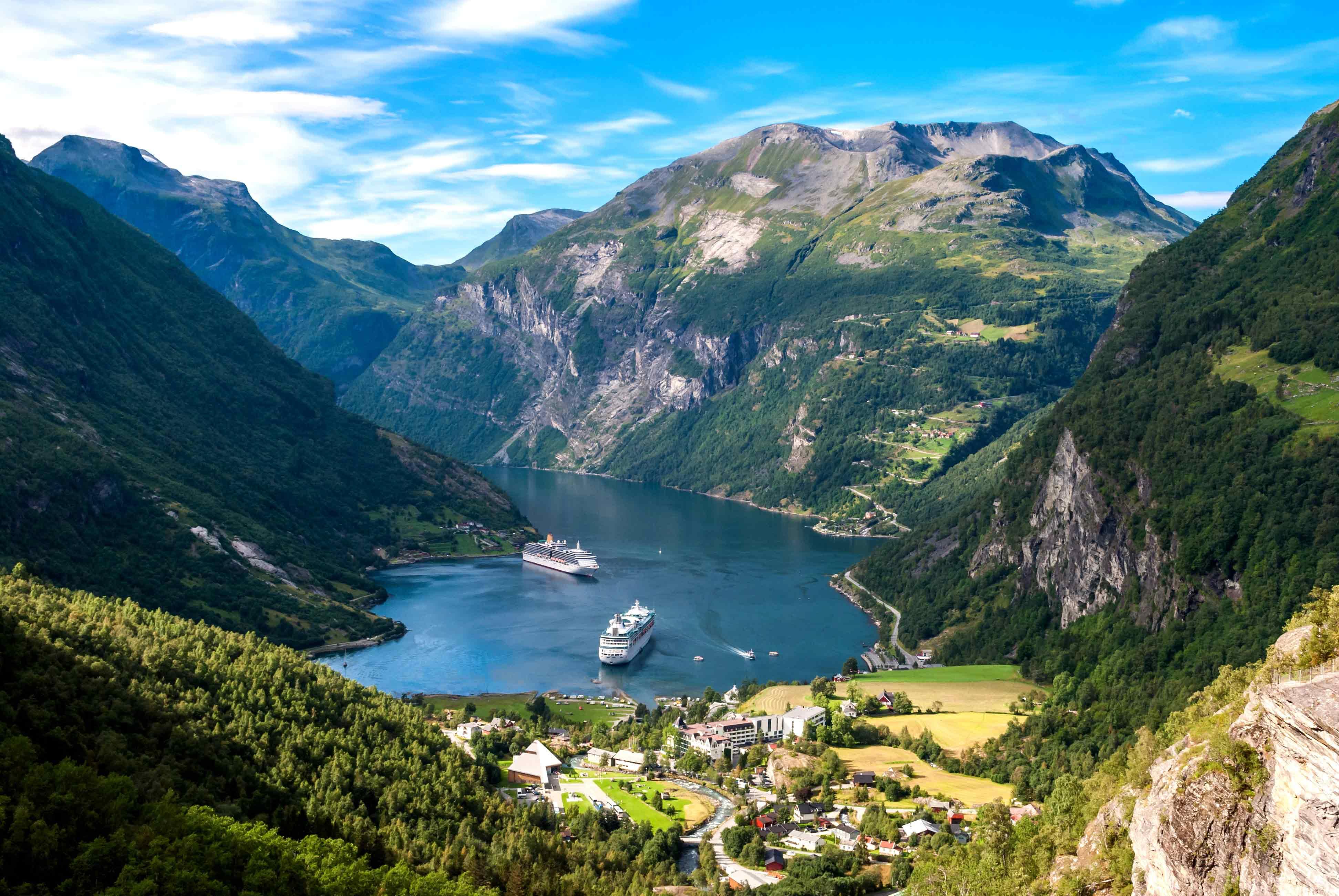 Норвежские фьорды — что это