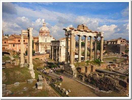 Пантеон и фонтан Треви