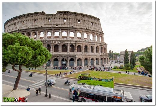 Колизей, римский форум – исторический центр города