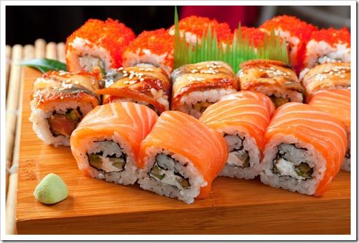 Виды суши