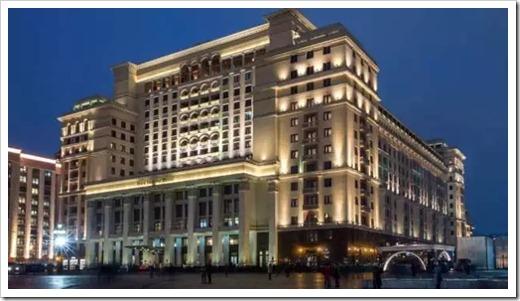 Отели в самом центре Москвы