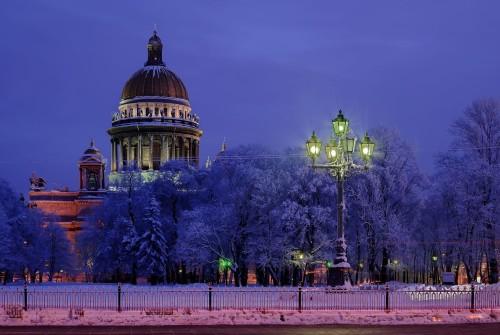 Что посмотреть в Питере зимой