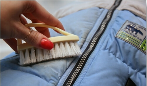 Как постирать пуховую куртку