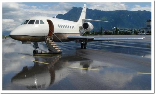 Нет необходимости покупать частный самолёт