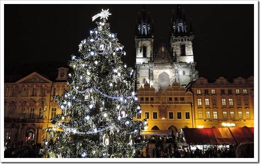 Как проходит встреча Нового года в Праге?