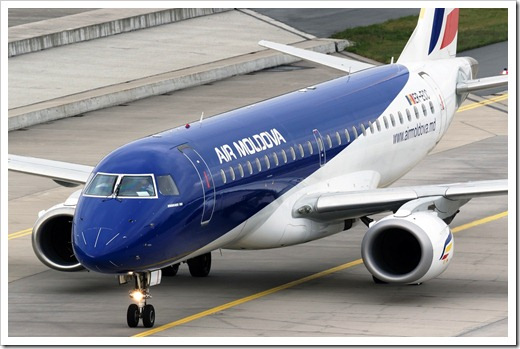 Обзор авиакомпании AirMoldova