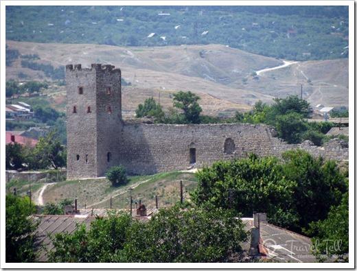 Генуэзская крепость и Карантинный холм